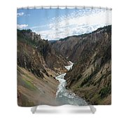 Yellowstone Grand Canyon Shower Curtain