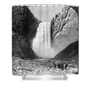 Yellowstone: Grand Falls Shower Curtain
