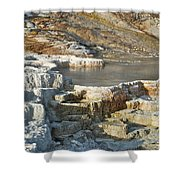 Yellowstone Mineral Features 3 Shower Curtain