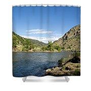 Yellowstone Serenity   Shower Curtain