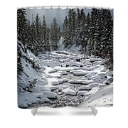 Yellowstone -  Soda Butte Creek Shower Curtain