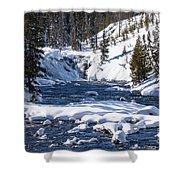Yellowstone Winter One Shower Curtain