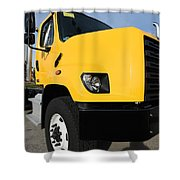 Yellowtruck Shower Curtain