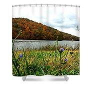 Yellowwood Lake, Southern Indiana Shower Curtain