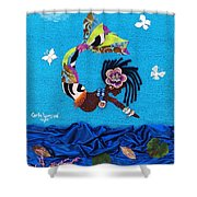 Yemaya Shower Curtain
