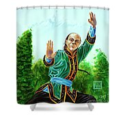 Yen Fan Shower Curtain