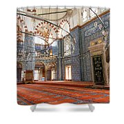 Yeni Cami Mosque Shower Curtain