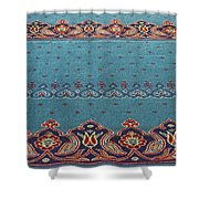 Yeni Mosque Prayer Carpet  Shower Curtain