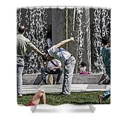 Yerba Buena Shower Curtain by Kate Brown