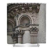 Yerkes Details - 2 Shower Curtain