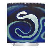Yes Father I Am Mad At The Universe. Shower Curtain