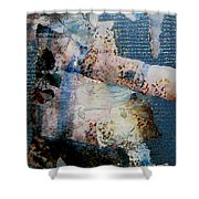 Yesterday And Today Panel 1 Shower Curtain