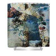 Yesterday And Today Panel 2 Shower Curtain