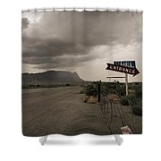Yesterday Road Shower Curtain