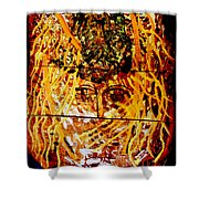 Yesu Cristu Shower Curtain