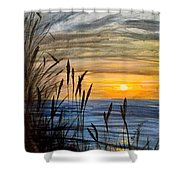 Yet Another Sunset Shower Curtain