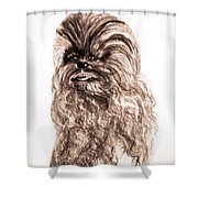 Yeti Has The Final Word Shower Curtain