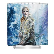 Ygritte The Wilding Shower Curtain