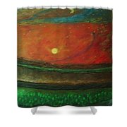 Yin Yang And Five Elements Shower Curtain