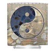 Yin Yang Harmony Shower Curtain