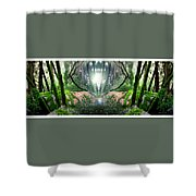 Yo Moss Shower Curtain