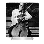 Yo-yo-ma (1955- ) Shower Curtain by Granger