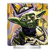 Yoda 1981 Shower Curtain