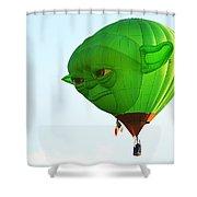 Yoda In The Sky Shower Curtain