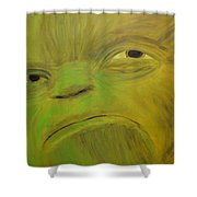 Yoda Selfie Shower Curtain