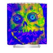 Astrophagus Shower Curtain