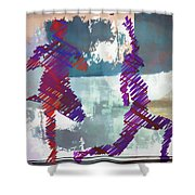 Yoga Vi Shower Curtain