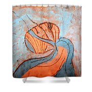 Yogaic - Tile Shower Curtain