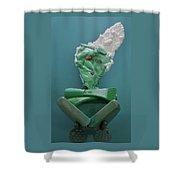 Yogi Levitation Shower Curtain