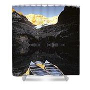 Yoho National Park, Lake Ohara, British Shower Curtain by Ron Watts