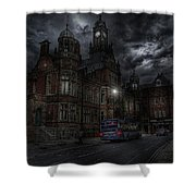 York And Selby Magistrates Court Shower Curtain