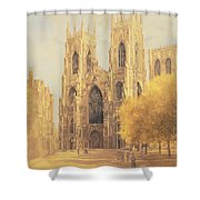 York Minster Shower Curtain