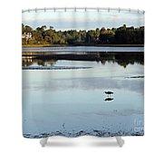 York River, Maine Shower Curtain