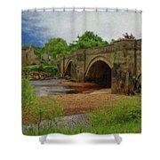 Yorkshire Bridge - P4a16015 Shower Curtain