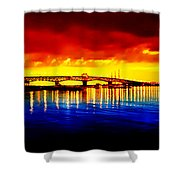 Yorktown Virgina Shower Curtain