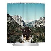 Yosemite Awe Shower Curtain