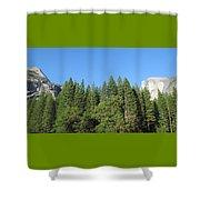 Yosemite Domes Shower Curtain