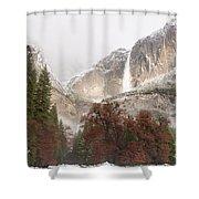 Yosemite Falls Shower Curtain