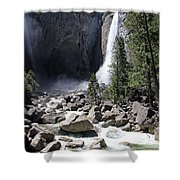 Yosemite Falls Shower Curtain