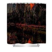 Yosemite Firefall 2015 Shower Curtain