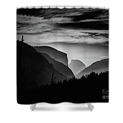 Yosemite National Park Shower Curtain