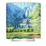 Yosemite Park Shower Curtain