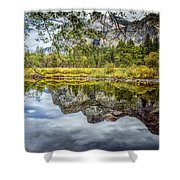 Yosemite Reflections Right Shower Curtain