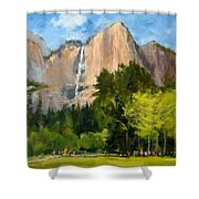 Yosemite - Ribbon Falls Shower Curtain