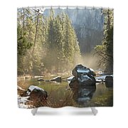 Yosemite Spring Shower Curtain