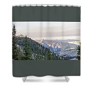 Yosemite Sunrise Shower Curtain